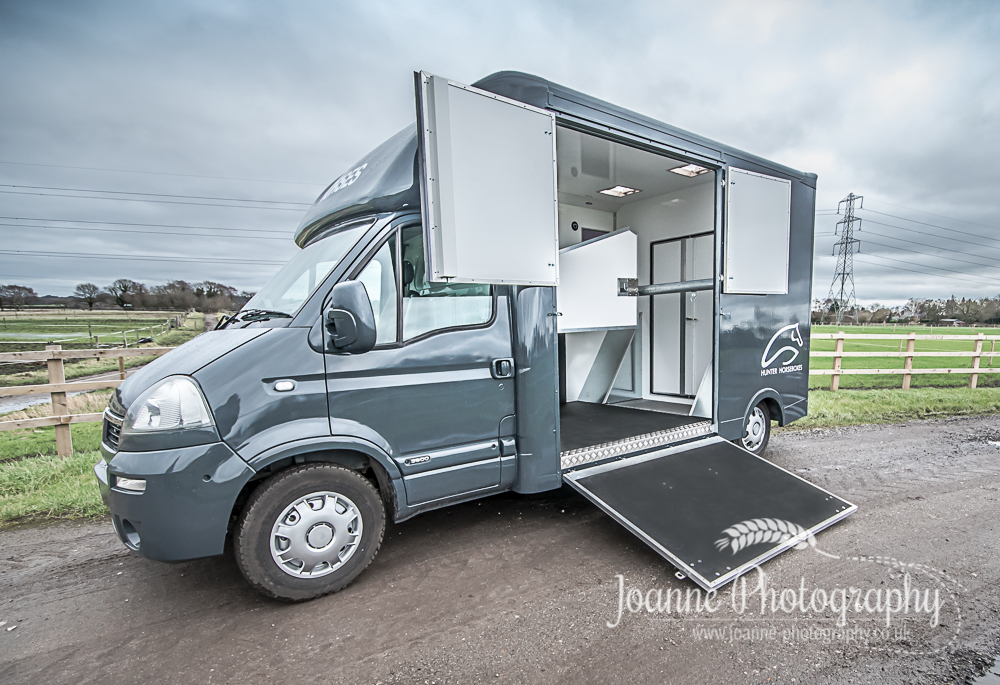 Hunter horseboxes Ltd horsebox