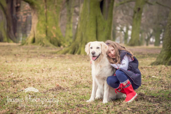 Dog And Child Photography-Cheshire
