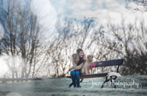 pet owner photography