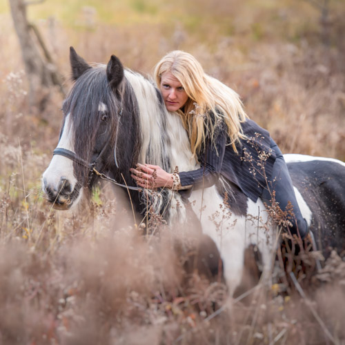 horse and rider photography