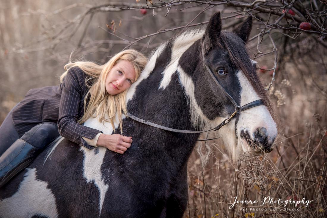 Horse and Owner Portrait LAncashire